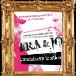Affiche FRA & JO galerie Trianon 2013