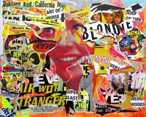 ART OF NOISE by Jo Di Bona 2014 162x130 technique mixte sur toile