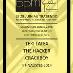 Affiche Finale BPM 2014