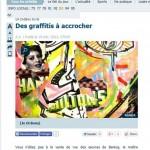Article Le Parisien Galerie Trianon décembre 2013