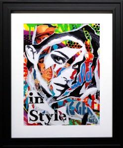 IN STYLE by Jo Di Bona 2015 40x50 technique mixte sur papier