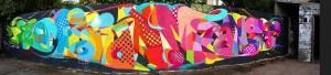 Mur réalisé à Pavillons-sous-Bois