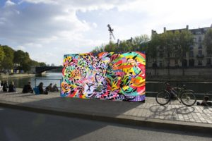 Festival DOXALL Quai de Seine, Paris, by Jo Di Bona