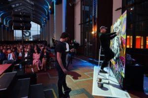 Performance live pour SOFINCO à EUROPACORP by Jo Di Bona - Saint-Denis 2017